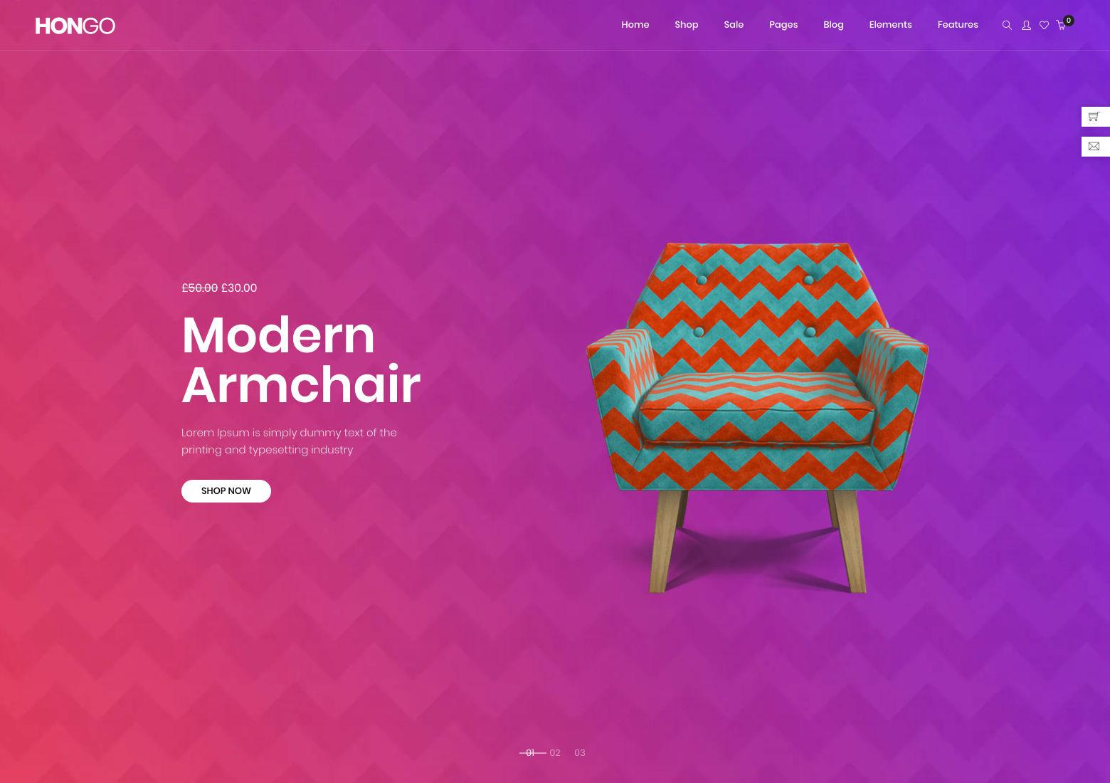 Web design and layout: carousels for featured content