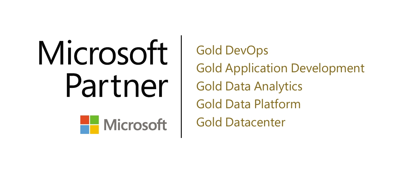 Microsoft Gold Partner badge. (Toptal is a Microsoft Gold Partner.)