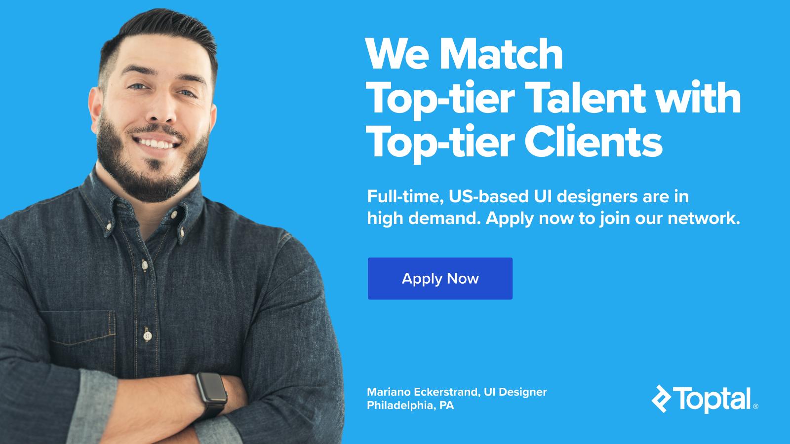 US-based full-time freelance UI designers wanted