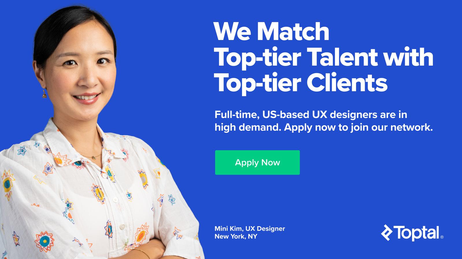 US-based full-time freelance UX designers wanted