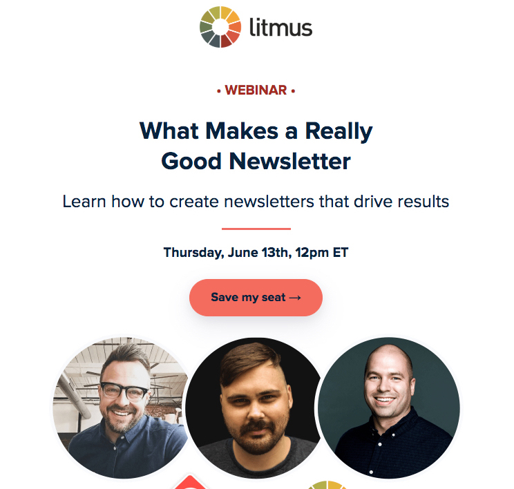 Email design: calls to action