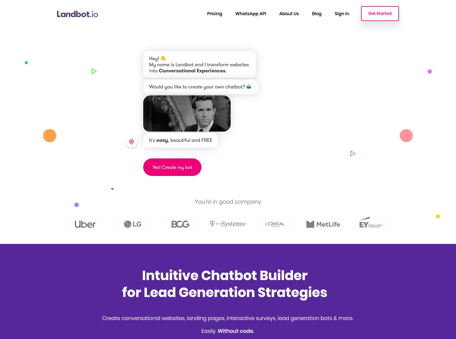 great landing page designs are unique without being unconventional