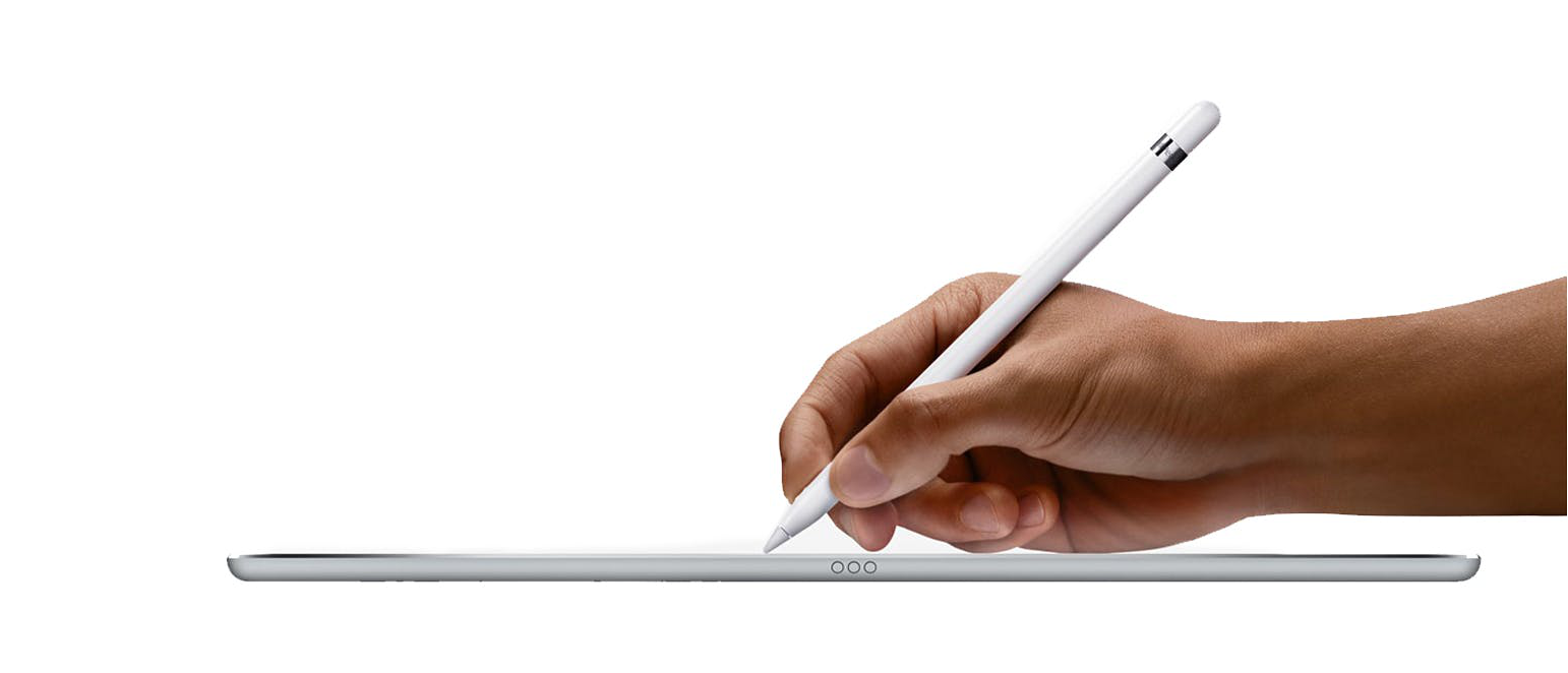 The Apple Pencil with the iPad Pro: another evolution of the user interface