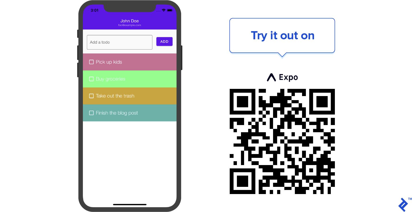 A Reactive Todo App