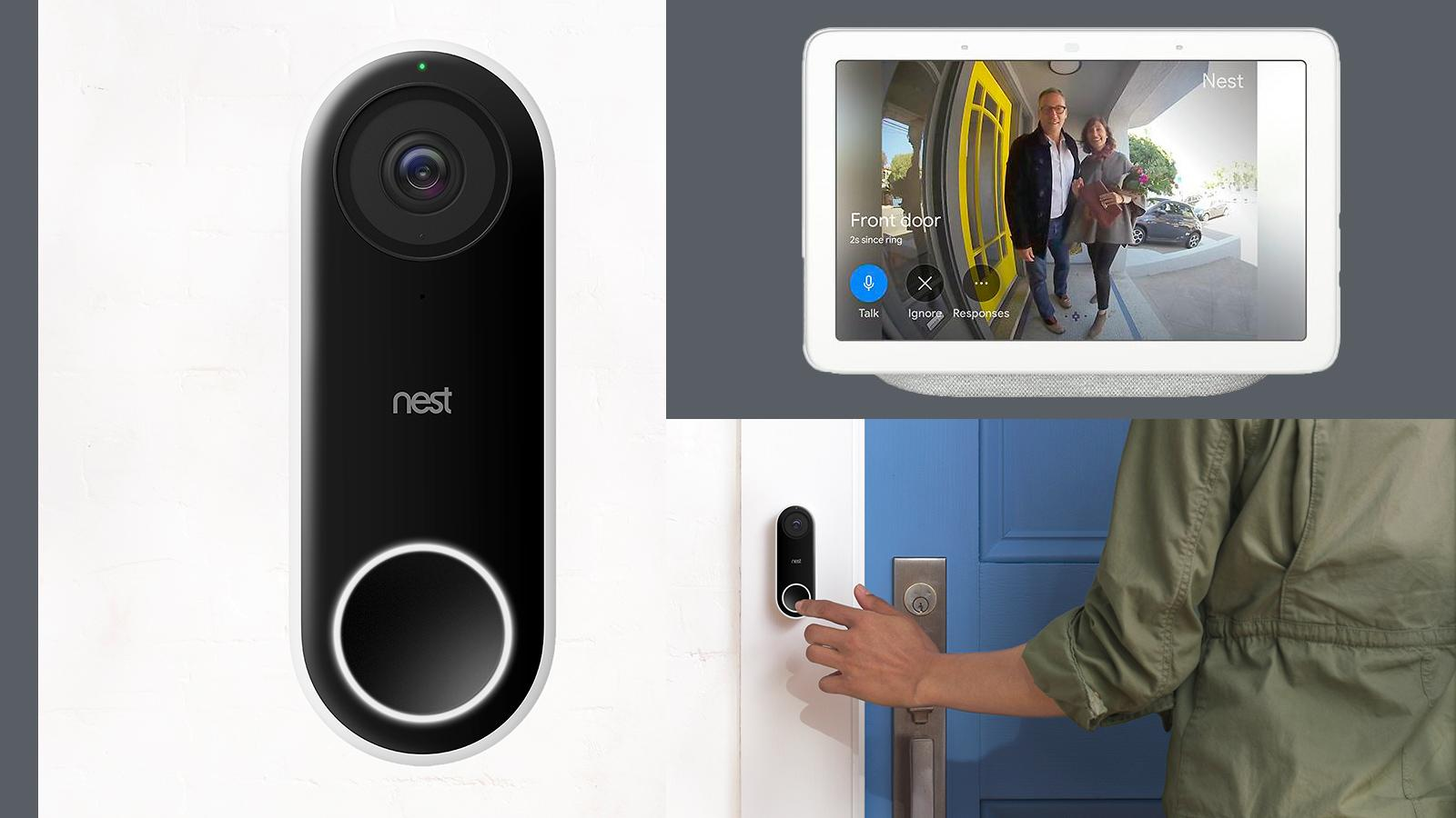 Nest doorbell, an example of component-based design