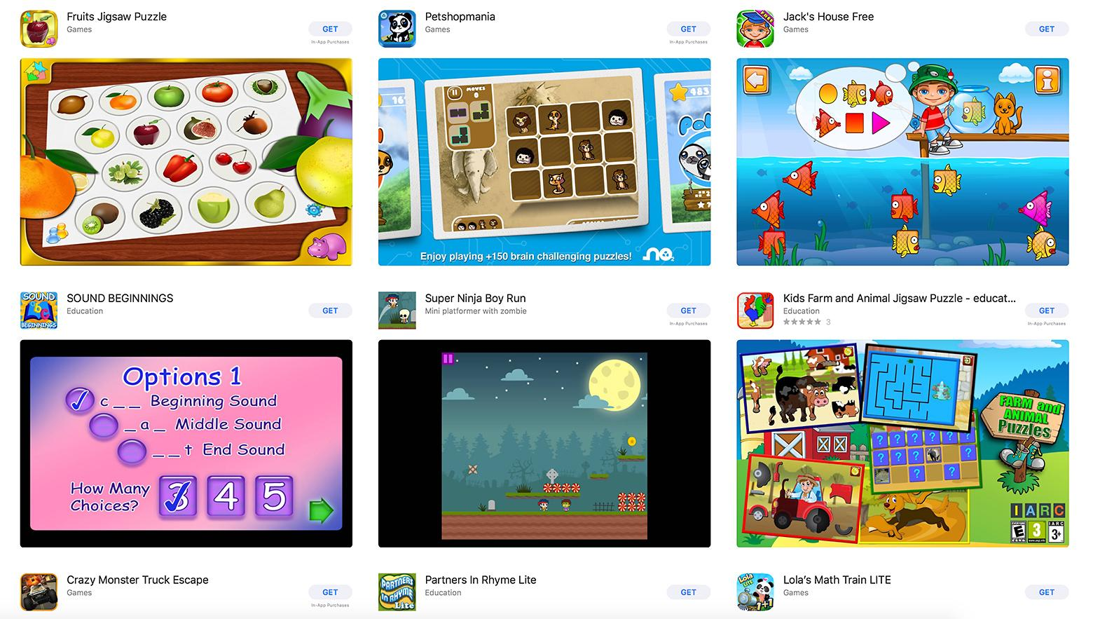 Best apps for children
